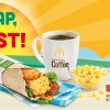 Some greens finally. McDonald's debuts new Chicken Bacon with Spinach Breakfast Wrap