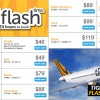 Here's a preview of Tigerair Flash Sale this Thursday with fares from $45