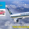 Singapore Airlines celebrates 70th Anniversary: $70 Child Fares + Two-To-Go Flight Offers