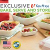 Redeem this useful set of Corelle Snapware when you spend at FairPrice from now till May 24