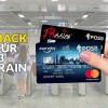 Register your POSB/DBS Mastercard and enjoy 100% cashback on first 3 train/bus rides