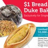$1 Bread from Duke Bakery!? Singtel customers can go redeem it from My Singtel App now