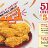 It's Popeyes Day on May 7 this Sunday – Grab 5 pieces Chicken for only $5.90