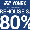 Badminton players, don't miss the Yonex Warehouse Sale happening this weekend (26 – 28 May)
