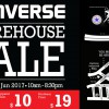 Make space for new sneakers as Converse Warehouse Sale 2017 returns early in June