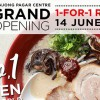IPPUDO opens new outlet in Tanjong Pagar Centre with 1-for-1 Ramen Promotion on June 14