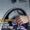 Register for free cleaning service for all Samsung Washing Machine owners from now till July 31