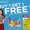 Watsons offer 1-for-1 specials on over 280+ items storewide & online for one day (25 October)
