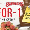 Swensen's to offer 1-for-1 Ice Cream & Dessert Buffet @ ION Orchard from 30 Oct – 3 Nov