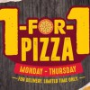 Pizza Hut to offer 1-for-1 on your favourite pizzas Mon – Thurs when you order online