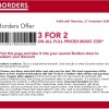 Borders Coupons Part II