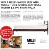 Muji Beechwood Bed Contest Promotion