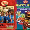 Chili's Year End Happy Hour Promotion | Dec 2009
