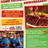Chilis First Anniversary Promotion