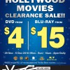 Hollywood Movies Warehouse Sale