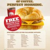 Burger King's FREE Croissan'wich Giveaway