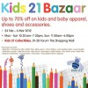 Kids 21 Bazaar Sale