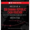 Banana Republic $50 Voucher With $280 Purchase