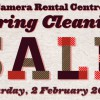Camera Rental Centre Spring Cleaning Sale