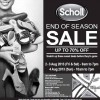 Scholl End of Season Warehouse Sale