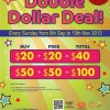 Timezone Double Dollar Deal Every Sunday, Buy $20 Get $20 Free Value