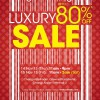 Valiram Luxury Sale 2013 @ Changi Airport With Up To 80% Discounts On Branded Merchandise