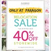 Aussino Relocation Sale @ Paragon Orchard With 40% Off Storewide November 2013