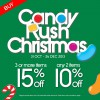 """The Wallet Shop """"Candy Rush Christmas"""" Promotion: 15% Discount When You Purchase 3 Items"""