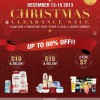 L'Oréal Christmas Clearance Sale @ Singapore Expo: Up To 80% Off Skin & Hair Care Products