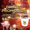 Harry's Bar Singha Beer Bucket & Cocktail Lunar New Year 2014 Drinks Promotion