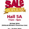 Popular Expo Sale 2014: Bargains On Books, Stationery & More