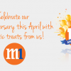 M1 17th Anniversary Celebration Offers Sunday Free Calls & 1-For-1 Dining + Snack Treats