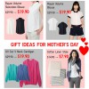 Uniqlo Gift Ideas For Mother's Day: Blouse, Cardigan & Linen Stole Sale