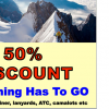 Campers' Corner 50% Clearance Discount On Black Diamond Rock Climbing & Hiking Gear