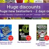 Book Depository New Bestsellers Sale with Discounts up to 25%