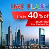 UAE Flash Sale on Agoda saves you up to 40% on hotels