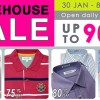 Biztex Branded Menswear & Bedlinen Warehouse Sale offers up to 90% off retail prices
