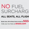 AirAsia to remove fuel surcharge on all flights, all-in fares from $40