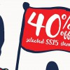 Cath Kidston top picks are down 40% in Spring/Summer Sale