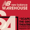 New Balance Singapore to hold official Warehouse Sale @ *SCAPE Orchard this weekend