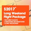 Jetstar to launch insane 2017 Long Weekend Flight Package for $2,017 on December 6