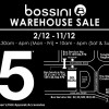 Bossini Singapore holds Warehouse Sale at their headquarters with prices from $5