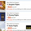Take a look at ZUJI latest Travel Flash Sale to 8 Lucky Destinations from $56