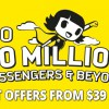 Enjoy 10% off Scoot flights from $39 all-in because 50 million passengers milestone