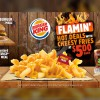 Burger King new Flamin' Hot Deals will come with a burger, drink and Cheesy Fries for only $5