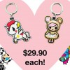 Tokidoki EZ-Link Leather Charms now available at Popular Bookstores and UrbanWrite islandwide