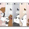 Pick up these adorable 'We Bare Bears' phone cases for only $9.90 each for a limited time