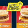McDonald's Sausage McGriddles will be available all-day this World Cup season