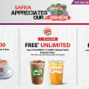 SAFRA offers its members FREE treats from Ya Kun, Burger King, Swensen's & more in celebration of SAF Day 2018