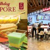 Ya Kun to offer Kaya Durian Toast and Pandan Durian Beancurd in celebrating the nation's 53rd birthday